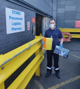 TSG Marine supplies PPE to NHS.